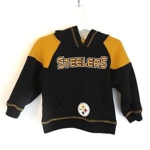 NFL Steelers Hoodie Size 3T